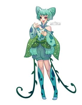 Bulbasaur Gijinka by Flying-Fox
