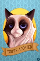 Grumpy Cat by joogz