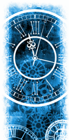 Only Time Will Tell [Custom Box BG] (Invert Blue) by darkdissolution
