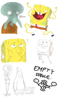 Spongebob stuff by Wowza-Wowzers