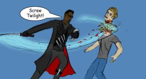 Blade vs Twilight by Evil1991