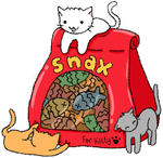Kitty Snax by Estherella