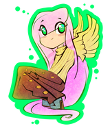 Fluttershy Chibi thing by TheGalacticKat