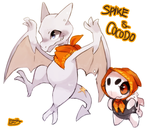 Spike and Cocodo by fu-fighters