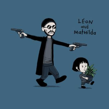 Leon and Mathilda by CrumblinCookie