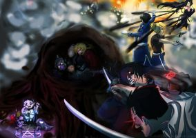 FMABrotherhood Battle by Kaiser-jiM