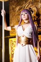 Athena Cosplay - Saint Seiya by Kitty-Honey