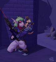 Jak and Daxter by Merystic