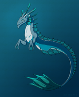 Sea Wyrm by SuperSymmetricCake