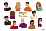 Heroes of Olympus by Isuani
