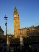 Big Ben and Houses of Parliament by Saliona93