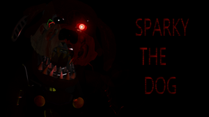Sparky The Dog Up For Grabs by AnArt1996