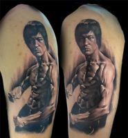 bruce lee by bhbettie