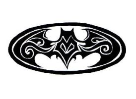 Batman Logo 1 by Tribalchick101