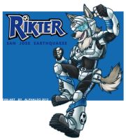 Rikter the Cyberdog by alphaleo14