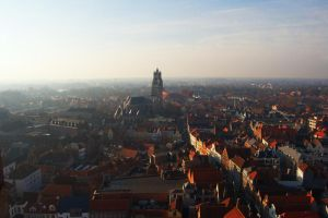 brugge in the morning by cancerio