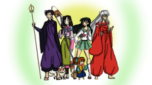 INUYASHA: The unstoppable Team by DarkPrincess116