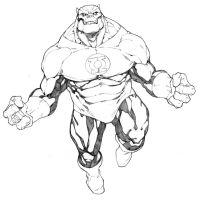 Kilowog Green Lantern by RandyGreen