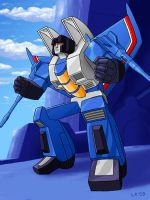 Thundercracker by Oreobot