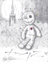Voodoo doll by Evil-Peanut