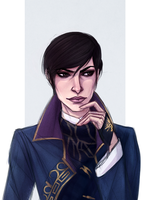 Emily Kaldwin - Dishonored 2 - Scribbly Sketch by Naimly