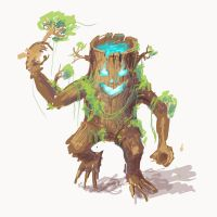 Conceptual Treant by Darkshire