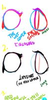 EYES TUTORIAL by Laura-comics