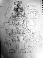 Genetic Operations (GEN-Ops) Soldier by Target21