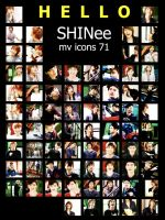 HELLO. SHINee mv icons. 71 by e11ie