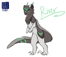 River by silverfennec
