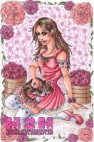 Roses.and.Kitty by Hatter2theHare