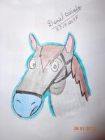 Fred, el caballo by 1987arevalo
