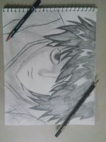 L from Death Note! by deathday1087
