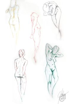 Life Drawing by AndromedaCollision