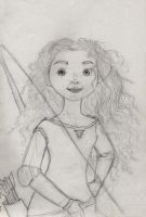 Merida sketch by DAE-Art