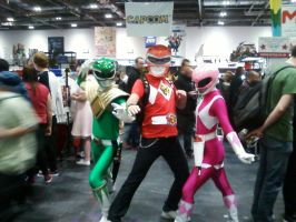 Mighty Morphin Power Rangers Cosplayers by DoctorWhoOne