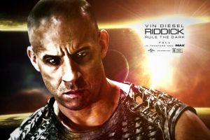 New Riddick Poster  by CharlesDiAngelo
