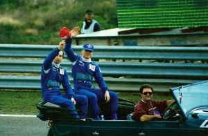 Heinz H. Frentzen, Johnny Herbert, Estoril, 1996 by F1PAM