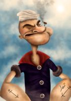 Popeye by lepeART