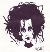 edward scissorhands by lilblackridinghood