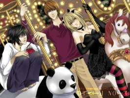 DEATH NOTE -  Carrousel by Nekozumi