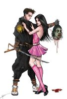 Bill Tucci's Zombie Sama by ThePrincessNightmare