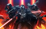 SITH LORDS (colored) by grandizer05