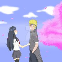 NaruHina - confession by Owocowe