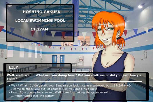 HG Visual Novel: Water Lily by Rachiedian