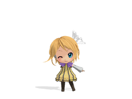 MMD Colorfull X Melody Rin by Nendoroids