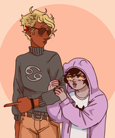 Screams Into My Own Gay Hands by colorwonders