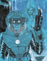 Mr. Freeze by Hodges-Art