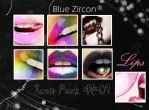 Lips Icon Pack 01 by bluezircon-graphics