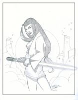 Tanake Trang - Sketch by MichaelCrichlow